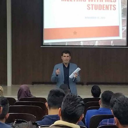 Departmental Meeting with Students